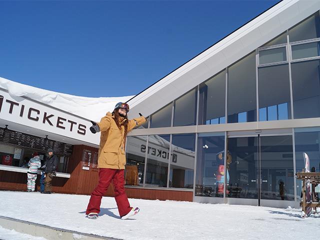 オリオンバス利用【東京発着Bタイム】朝発日帰り たんばらスキーパーク【滞在約6時間30分】