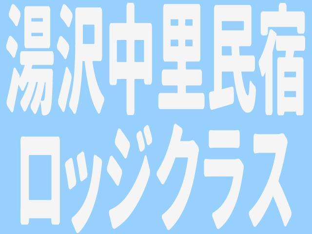 ■マイカー 湯沢中里 ロッジ・民宿クラス お部屋おまかせ