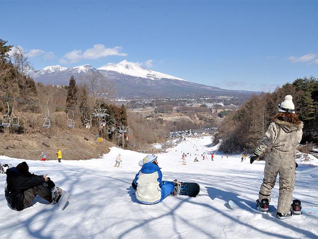 ■マイカーで行く 佐久スキーガーデンパラダ 日帰りプラン(リフト券+食事券など)