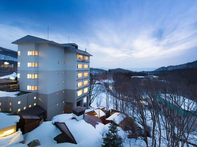 ■新幹線で行く 蔵王温泉スキー場 ホテルルーセントタカミヤ