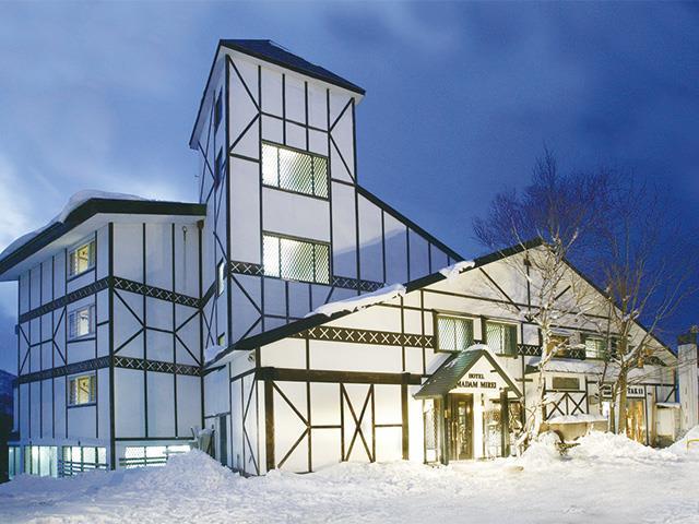 ■マイカーで行く 斑尾高原スキー場 ホテルマダムミレー