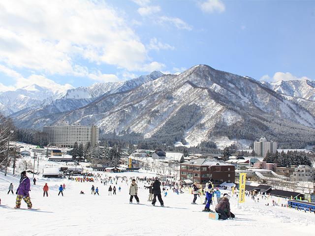 ■新幹線で行く  日帰り 湯沢中里スキー場 (自由席)