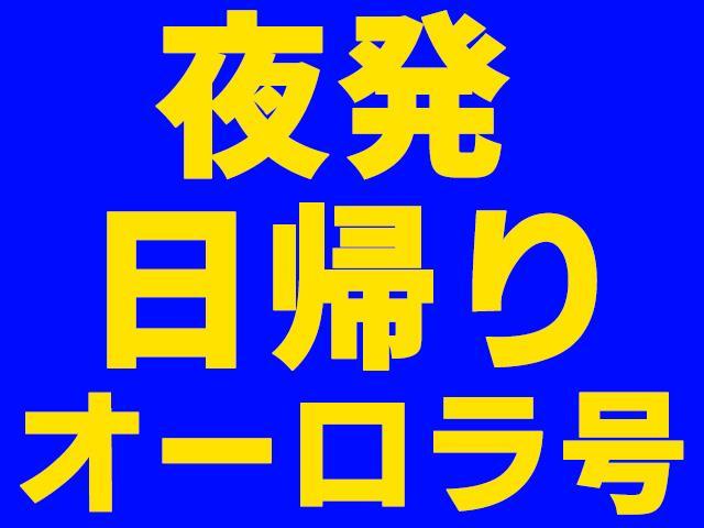 ●【夜発オーロラ号】日帰り 鷲ヶ岳スキー場(1月31日~3月27日出発)