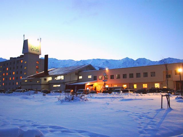 ○【夜発バス】エイブル白馬五竜&Hakuba47スキー場 おすすめの宿 温泉露天風呂完備 白馬ハイランドホテル
