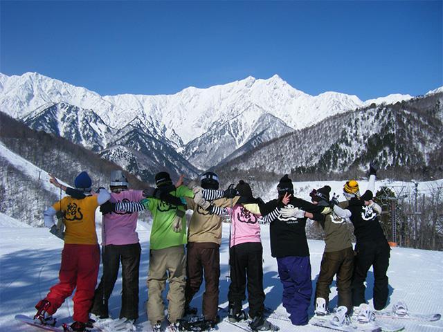 ■【夜発日帰り】HAKUBA VALLEY 鹿島槍スキー場