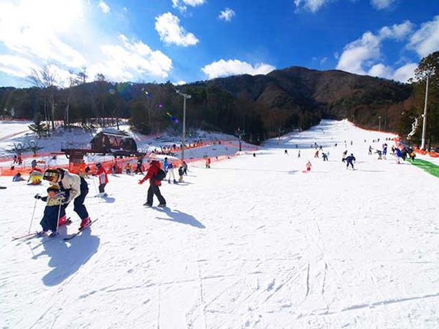 ○【朝発日帰り】 ♪子供と雪遊びに最適♪初めて雪を見たい外国人の方も歓迎♪駒ヶ根高原スキー場【滞在約7時間30分・リフト券付】